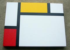 Mondrian Homage #2