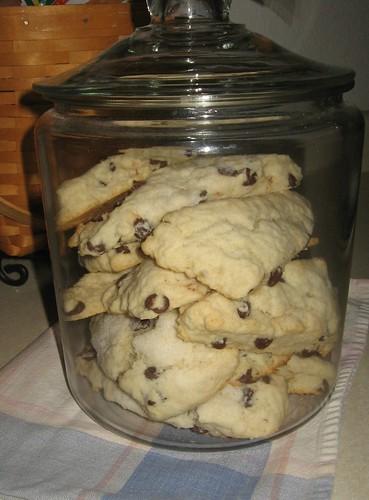 choco chip scones