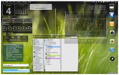 my desktop osx meets vista