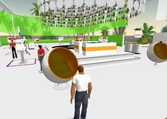 Sony Ericsson Second Life CeBIT 2007