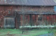 Gently aged barn