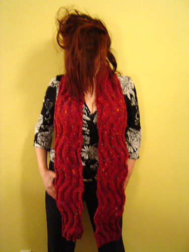 Wavy Scarf Full Length