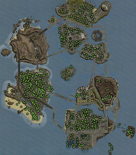 Agility Orbs Map - Crackdown