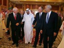 Cheney and Abdullah