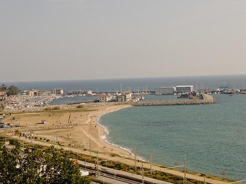 Port at Arenys