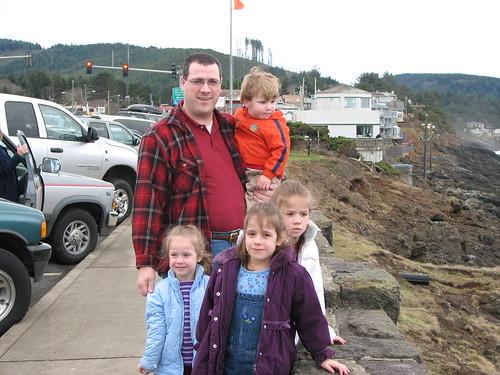 Paul and Kids - Depoe Bay