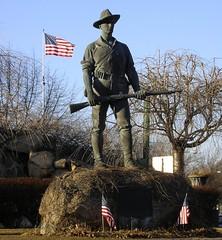 Hiker Monument - Wakefield, MA