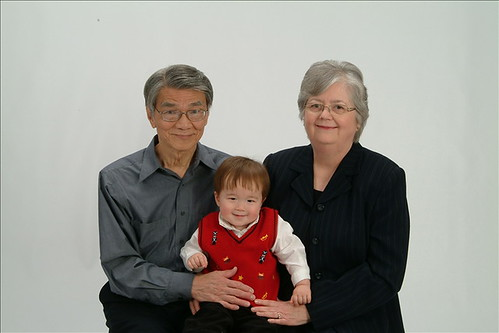 Grandpa, Grandma, and Micah