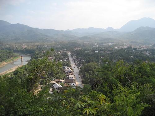 Luang Prabang from above