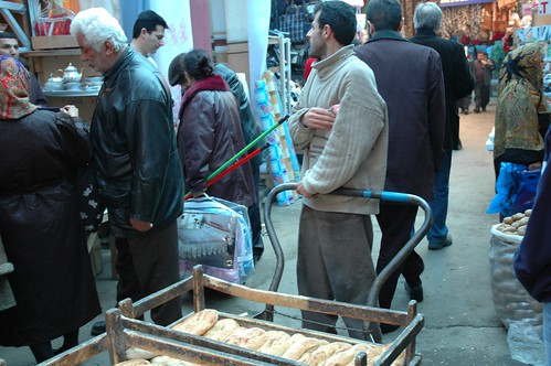 Bread Salaesman at the Bazaar by vagabondblogger.
