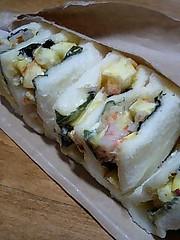 冬野菜のかき揚げサンド Sora