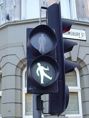 Drunk Zebra Crossing near British Museum