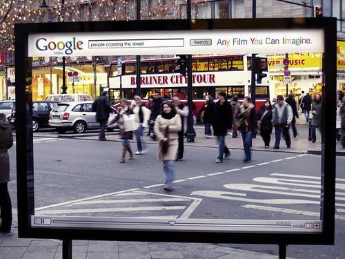 Google Video Street.