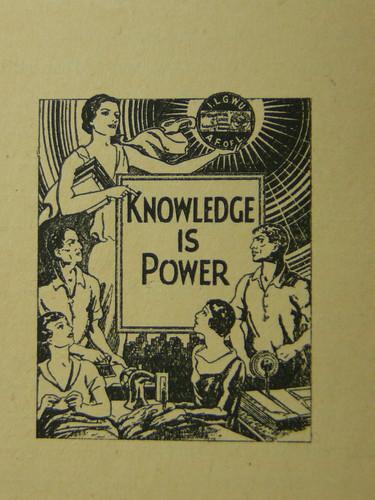 Knowledge is Power by Tobias Higbie