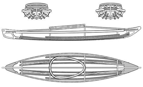 The \'retrieval\' kayak | Aaron Hines Design Portfolio