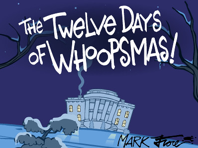 12 Days of Whoopsmas