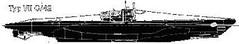 Von dieser Version des Typs VII C wurden 168 Einheiten geplant, aber nicht fertiggestellt.