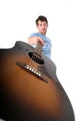 Tim and Guitar