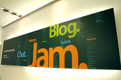Blog, jam, chat, podcast, web2.0