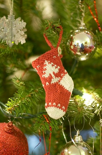 Christmas in July!  LOL  Its never too early to knit up some of these for the holidays.