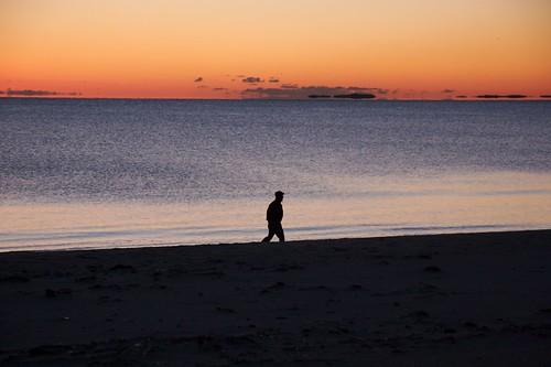 Daybreak on the way to Logan