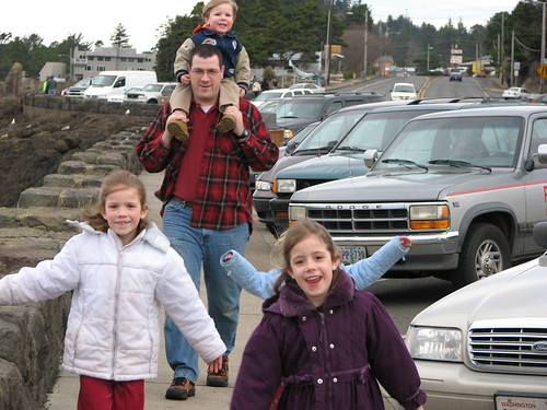 Paul and Kids - Depoe Bay