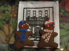Gingerbread Men Running