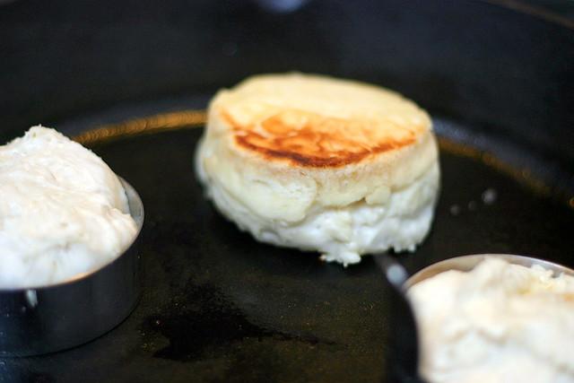 oozy english muffins