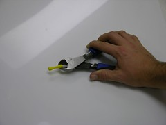 Cutting out the magnet