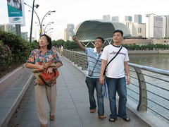 From The Esplanade to Merlion Park