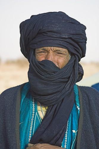 Targui, homme bleu du désert