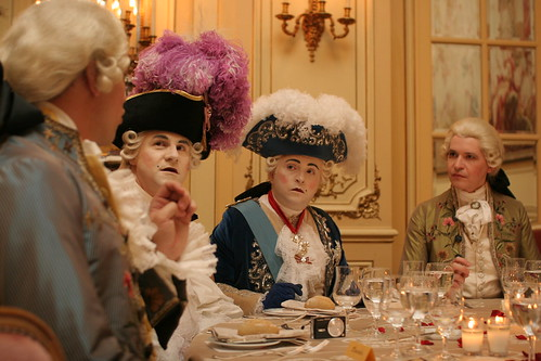 18th century bordello party in Paris