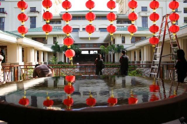 Preparing for Chinese New Year