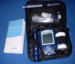 my blood sugar testing kit