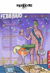 Net To Be - calendario secsi 2007 / febbraio