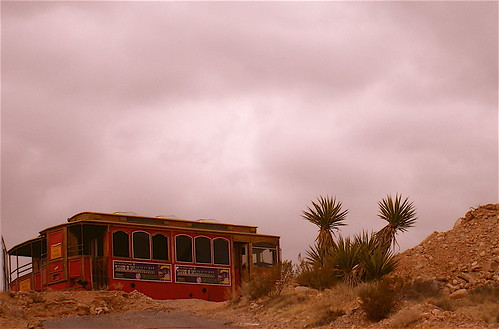 Is this a Caboose? Or Trolley Car? -- In Calico Basin