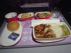 04.泰航的飛機餐