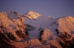 Mont Blanc al atardecer