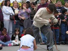 Straightjacket Escape, U-District Street Fair,...