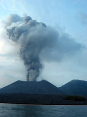 Volcano Erupting by kahunapulej