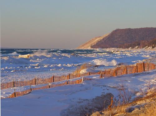 Empire Beach in Winter by Jim Sorbie