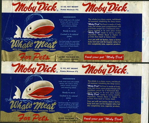 Moby Dick Whale Meat for Pets, by kqedquest, 1. März 2007