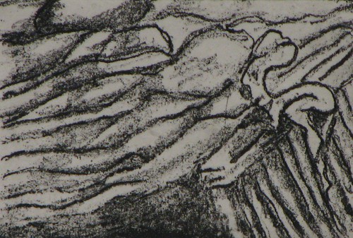 crossing boarder, drawing print