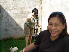 Si Jet sa bahay ni Sassy - oo Virginia, si Sassy yung may camera sa background
