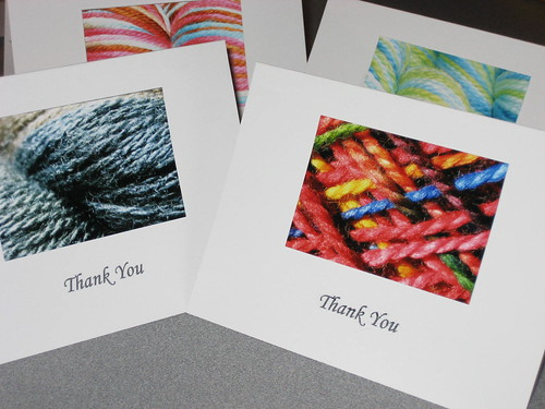 Knitting cards