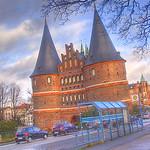 Das Lübecker Holstentor