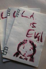 L.A. Is Evil chapbooks