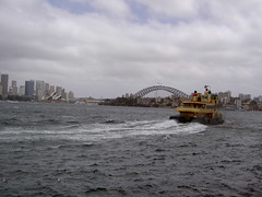 ferry off Cremorne Point