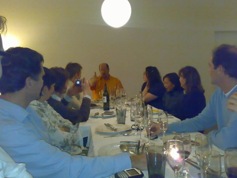 Diner party @ Boris