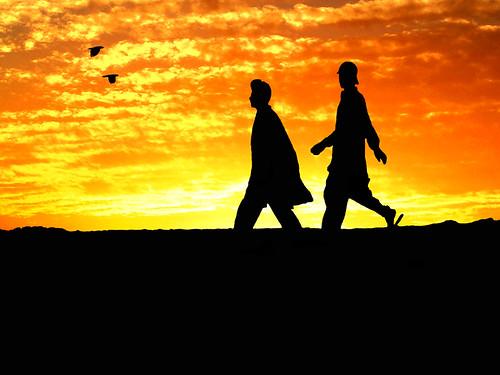 a walk into the horizon by !!sahrizvi!! (back in Dubai) !!